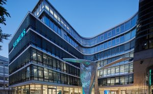 Siemens'in çevreci yeni merkez binası açıldı