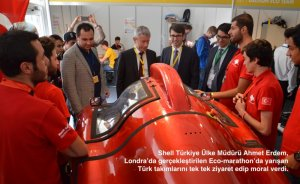 Avrupa'nın en iyi 5'inci hidrojen otomobili İstanbul'dan