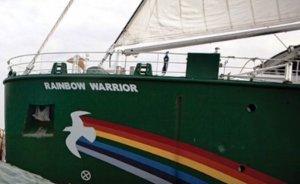 Rainbow Warrior, güneşli bir gelecek için İstanbul'da
