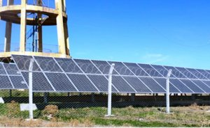 Konya, kuyu suyunu güneş enerjisi ile çıkarıyor