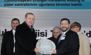 Erdoğan: Enerji gemileri birlik ve özgürlüğe hizmet etsin