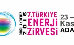 7. Türkiye Enerji Zirvesi yarın Adana'da başlıyor