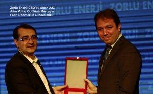 Enerji sektörünün yıldızları ödüllendirildi