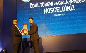 Mesleki Yeterlilik Kurumu'na 2016 Altın Vana Ödülü