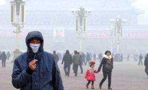 Çin'de hava kirliliği için kırmızı alarm