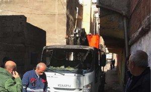 Diyarbakır'da elektrik arıza aracına sabotaj!