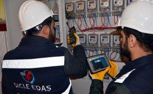 Dicle EDAŞ'tan kayıp kaçak elektrikte 12.3 bin işlem