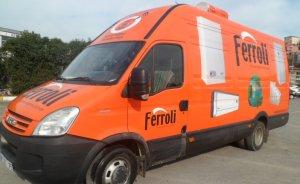 Ferroli eğitim aracı Samsun'a geliyor