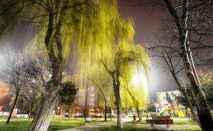 Beylikdüzü parkları LED'lerle aydınlanıyor