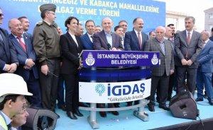 Çatalca'nın 3 mahallesine daha doğalgaz ulaştı