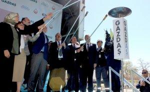Gaziantep'in Oğuzeli ilçesine doğal gaz ulaştı
