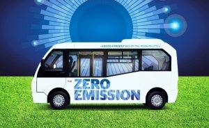Karsan'ın elektrikli minibüsü İspanya'da görücüye çıktı