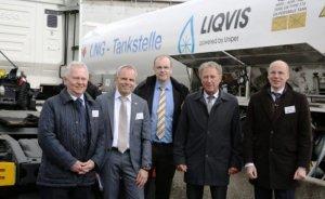 Berlin'de ilk LNG dolum istasyonu açıldı