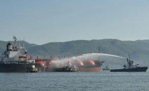 İzmit Körfezi'nde LPG yangını!