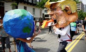 ABD'liler iklim değişikliği için yürüdü