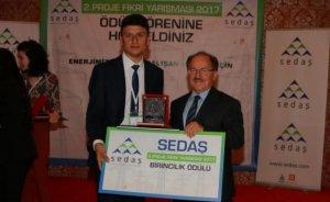 SEDAŞ proje fikri yarışmasının kazananı: Hüsnü Kaya