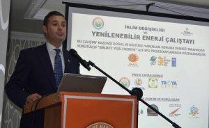 Akın: Yerli ve milli enerji kaynağı yenilenebilir enerjidir