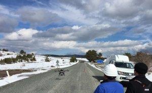 Kastamonu'da elektrik arızaları İHA'larla gideriliyor