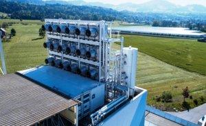 İsviçre'de atmosferden karbondioksit emen santral  kuruldu