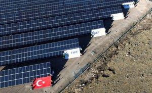 EWE Turkey'in Kayseri'deki GES'i elektrik üretmeye başladı