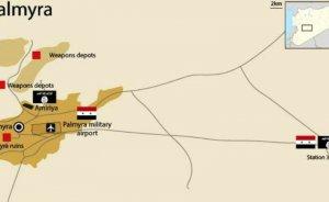 Suriye'de T-3 petrol pompalama istasyonu mayınlardan temizleniyor