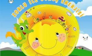 Zorlu Enerji'den çocuklara 'Güneş Enerjisi Kitabı'