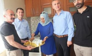 Mardin Artuklu'ya doğalgaz verildi