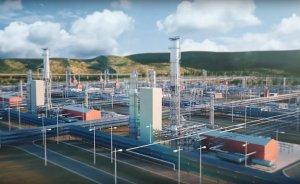 Gazprom Amur gaz işleme tesisinde geri sayıma başladı