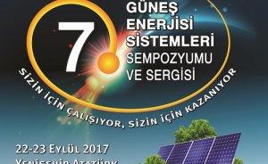 7. Güneş Enerjisi Sistemleri Sempozyumu ve Sergisi başlıyor
