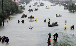 Harvey Kasırgası sonrası elektrik hasarının çoğu giderildi