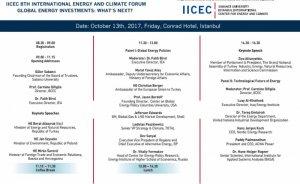 IICEC Enerji ve İklim Forumu 13 Ekim'de