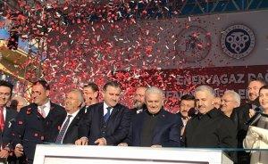 Erzincan Refahiye doğalgaza kavuştu