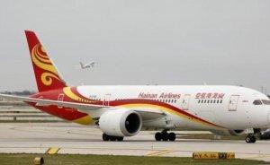 Atık yağ ile çalışan Çin uçağı okyanusu aştı