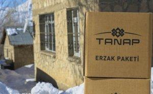 TANAP gıda yardımlarına devam ediyor