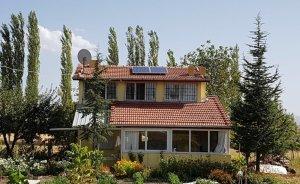 Banaz'da tüm cami ve okullara güneş enerjisi