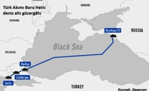Gazprom TürkAkım'ın denizdeki ikinci kolu için izin aldı