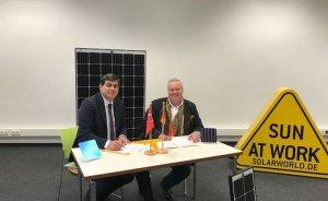 InoSolar SolarWorld panellerini Türkiye'de üretecek