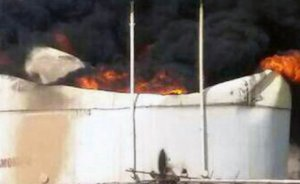 İran'da petrol deposu yangını: 3 işçi öldü