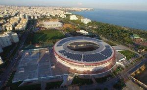 Antalya'da spor tesislerinin tüm elektriği güneşten!