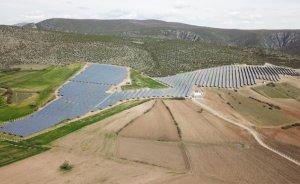 Güneş santraline insansız güvenlik