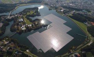 Japonya'nın en büyük yüzer GES'i elektrik üretmeye başladı