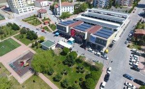 Melikgazi Belediyesi 8'inci güneş santralini açtı