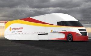 Shell ve AirFlow'dan yakıt cimrisi kamyon