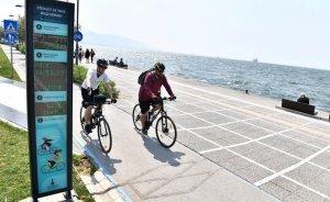 İzmir'deki bisiklet yolu 61 kilometreye çıktı