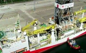 Türkiye'nin ilk sondaj gemisi Akdeniz'e uğurlandı