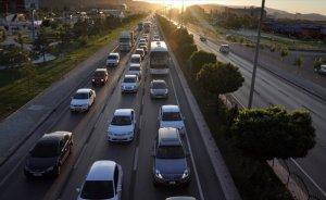 Trafiğe kayıtlı araç sayısı yüzde 3 arttı