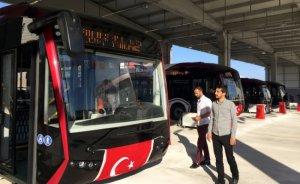 Elazığ'da elektrikli belediye otobüsleri devrede