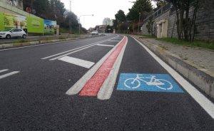 11 şehirde 91 kilometrelik bisiklet yolu projesi