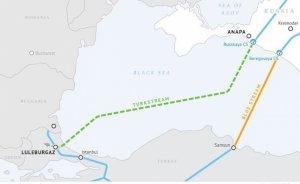 TürkAkım gazı Bulgaristan üzerinden AB'ye ulaşacak