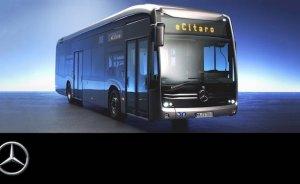 Mercedes elektrikli otobüsü eCitaro'yu tanıttı